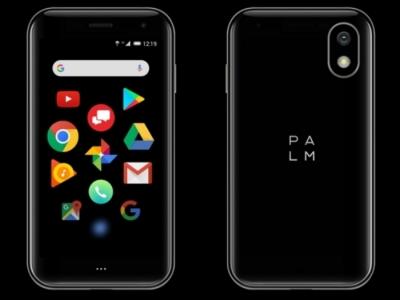 Кроха смартфон от Palm на Андроид
