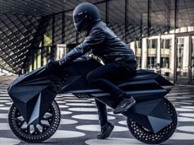 В Германии создали полностью напечатанный на 3D-принтере электрический мотоцикл NERA