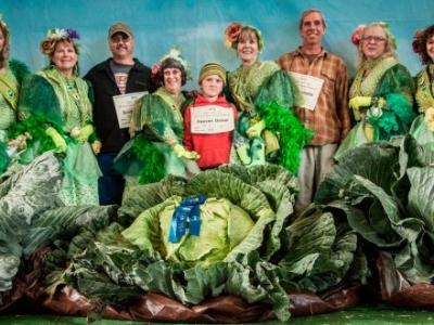 Овощи и фрукты - гиганты попавшие в Книгу  рекордов Гиннесса