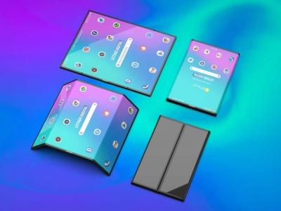 Новинка 2019 года - складной смартфон Xiaomi Mi Flex