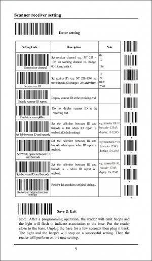 RADALL RD-1908 сканер штрих кода