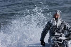 Как выглядят серферы при -34°C