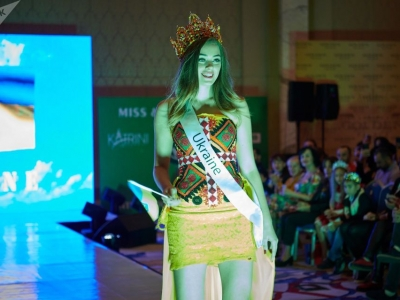 Украинка победила на международном конкурсе красоты