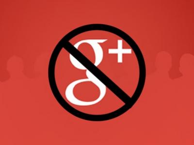 Google+ закрывают из-за непопулярности