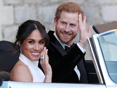 Меган Маркл  и принц Гарри  ждут двойню