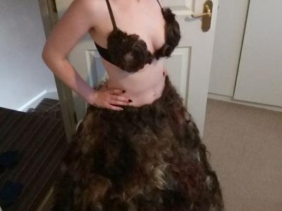 Угадай из чего сшито платье