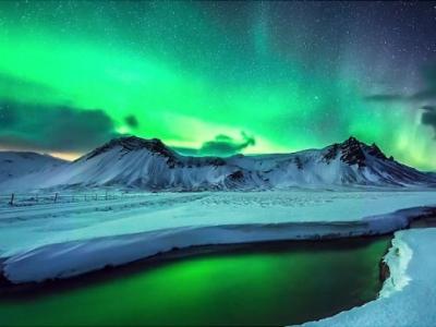 Необычайная красота северного сияния