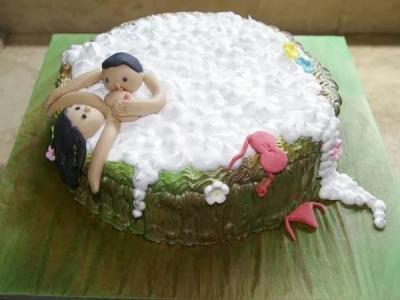 Торты с фантазией для взрослых