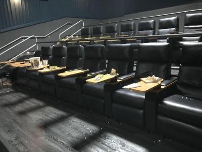 Кинотеатр после просмотра очередного фильма