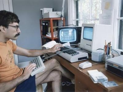 Суровые программисты 80-х годов