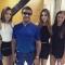 Сталоне с дочерьми